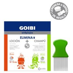 Goibi Kit Elimina Piojos Loción + Champú