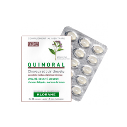 Quinoral Fortalecedor Capilar de Klorane 60 Cápsulas