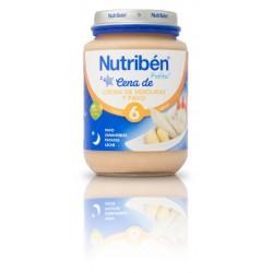 Potito de Crema de Verduras con Merluza de Nutribén 200 gr