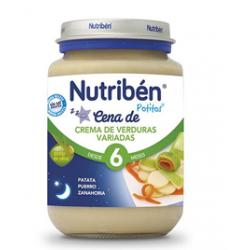 Potito de Crema de Verduras Variadas de Nutribén 200 gr