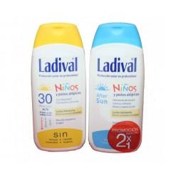 Ladival niños Spf 30 leche 200ml + ladival aftersun niños 200 ml