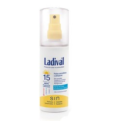 Ladival piel sensible gel spray oil free Spf 15 150 ml