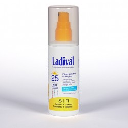 Ladival piel sensible gel spray oil free Spf 25 150 ml