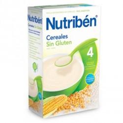 Papilla Nutrbén Cereales Sin Gluten 300 gr