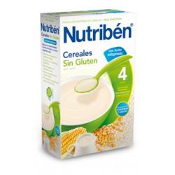 Papilla Nutribén Cereales Sin Gluten Con Leche Adaptada 300 gr
