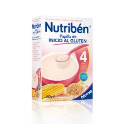 Papilla Nutribén Inicio al Gluten 300 gr