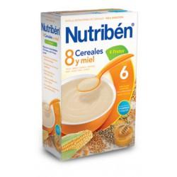 Papilla Nutribén con un Toque de Miel y 4 Frutas 600 gr