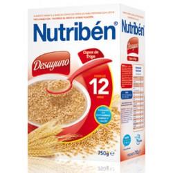 Nutribén Desayuno Copos de Trigo 750 gr