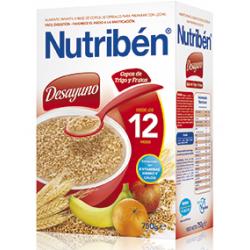 Nutriben Desayuno Copos de Trigo y Frutas 750 gr