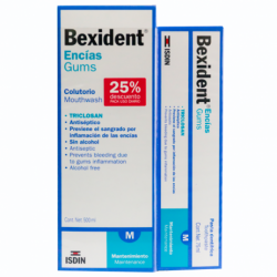 Bexident encias pack colutorio 500+pasta 75 ml
