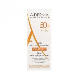 A-DERMA PROTECT FLUIDO FACIAL SPF 50+ 40 ML