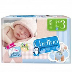 PAÑALES CHELINO T3 36 UDS