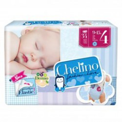 PAÑALES CHELINO T4 36 UDS