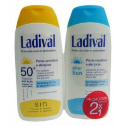Ladival gel crema FPS 50+ 200 ml