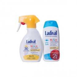 Ladival niños Spf 30 spray 200ml + ladival aftersun niños 200 ml