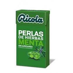Ricola Perlas Menta sin azucar 25 gr