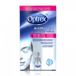 Optrex Spray ActiMist 2 en 1 para ojos secos + irritados