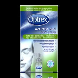 Optrex Spray ActiMist 2 en 1 para ojos cansados y molestos