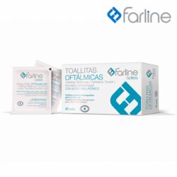 Farline Toallitas limpiadoras ojos  30 Uds.