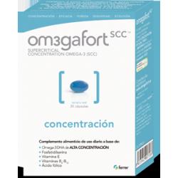Omegafort scc de alta concentración  complemento alimenticio