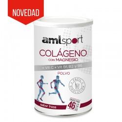 AML Colageno Magnesio Vit C Vit B Sabor Fresa 350 Gr