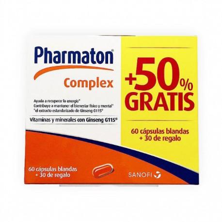 PHARMATON COMPLEX 60 caps. + 30 de regalo