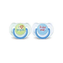 AVENT Chupete Clásico Love 6-18 meses niño