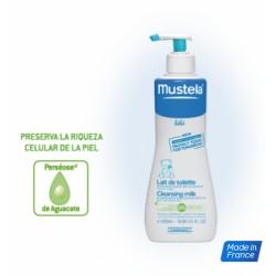 Mustela Loción Limpiadora de Baño Hipoalergenica 750 ml
