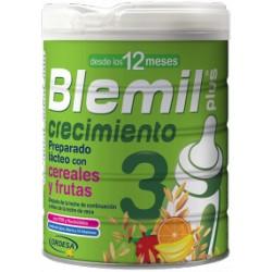 Blemil plus 3 crecimiento con cereales y frutas