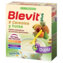 Blevit plus Duplo 8 Cereales y frutas