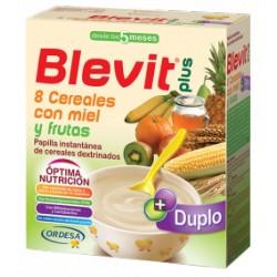 Blevit plus Duplo 8 Cereales con miel y frutas