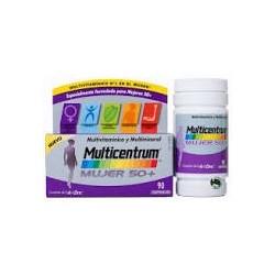 Multicentrum Mujer 50+ (90Comprimidos)